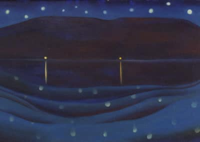 Starlight night, Lake George - Georgia O'Keeffe (1922)