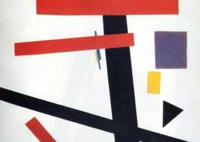 Suprematism - Kazimir Malevitch (1915)