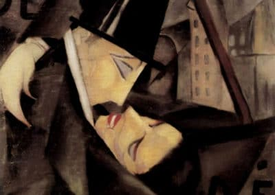 The kiss - Tamara de Lempicka (1922)