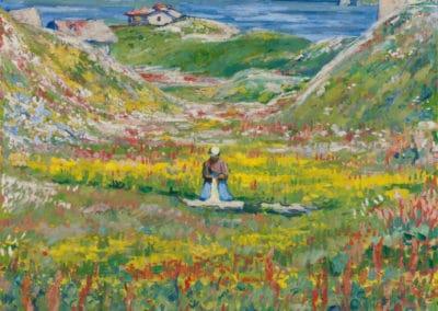 Vallée fleurie - Giovanni Giacometti (1914)