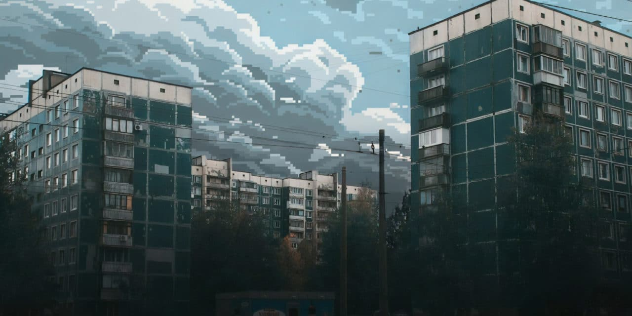 8-bit skies over Russia – Dmitry Shafroz