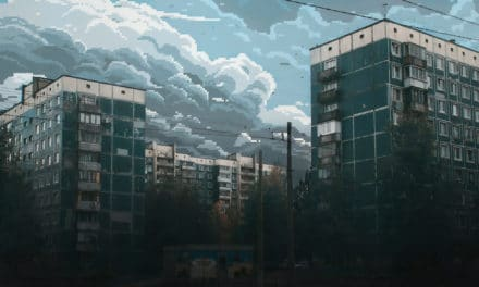 8-bit skies over Russia – Dmitry Shafroz