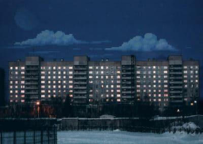 8-bit skies over Russia - Dmitry Shafroz (2032)