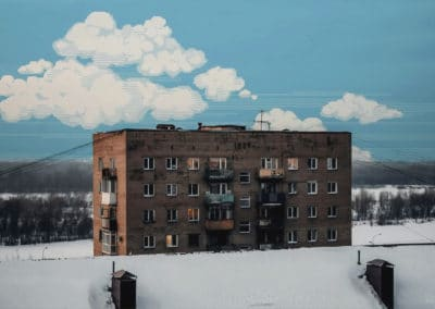 8-bit skies over Russia - Dmitry Shafroz (2043)
