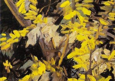 Acacias en fleurs - Vincent van Gogh (1890)
