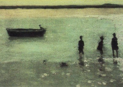 Beach at Étaples - Philip Wilson Steer (1887)