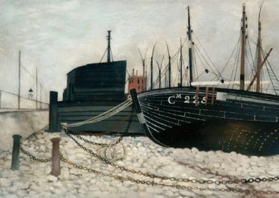 Black Boat - Mason Bateson (1955)