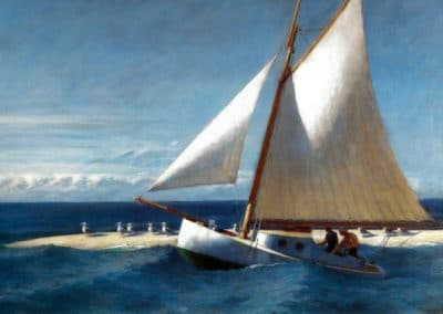 Boating - Edward Hopper - (1950)