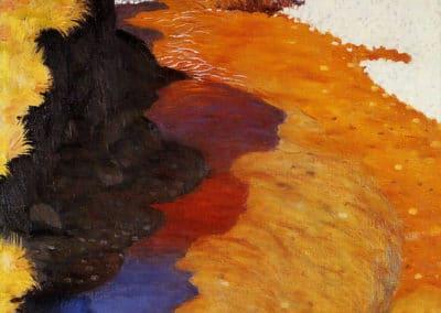 Cagne vue de cheval - Felix Vallotton (1921)