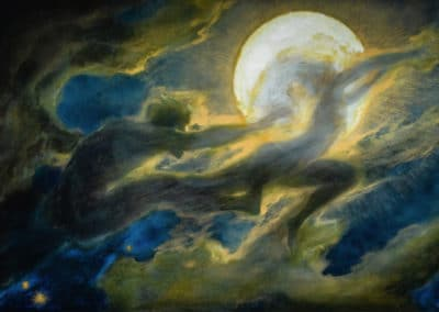 Cloud ghost - Richard Riemerschmid (1897)