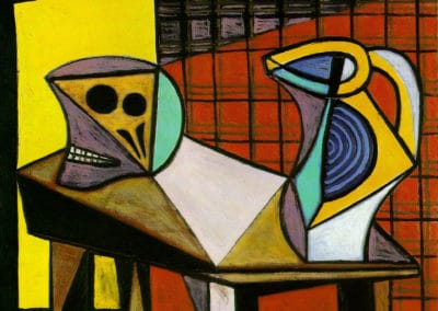 Crane and pitcher - Pablo Picasso (1945)