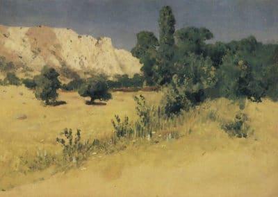 Crimea, Yayla - Arkhip Kuindshi (1890)
