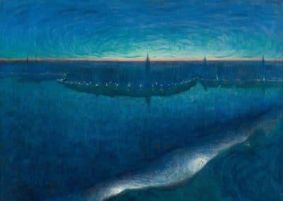 Dawn over Riddarfjärden - Eugene Jansson (1899)