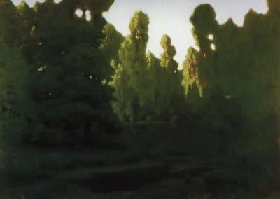 Forest - Arkhip Kuindzhi (1887)