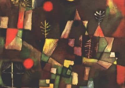 Full moon - Paul Klee (1919)
