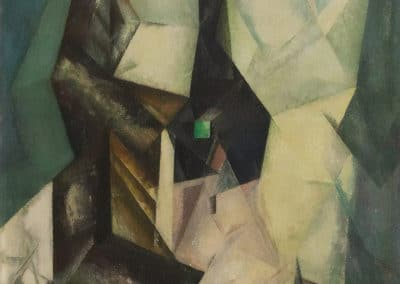 Gelmeroda IV - Lyonel Feininger (1915)