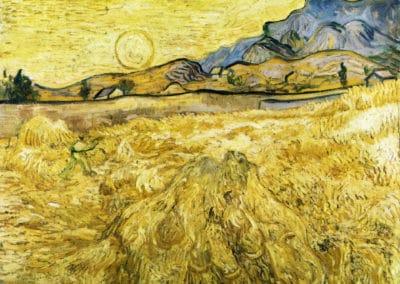 Les faucheurs - Vincent van Gogh (1889)