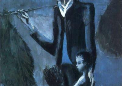 Marchand de guls - Pablo Picasso (1902)
