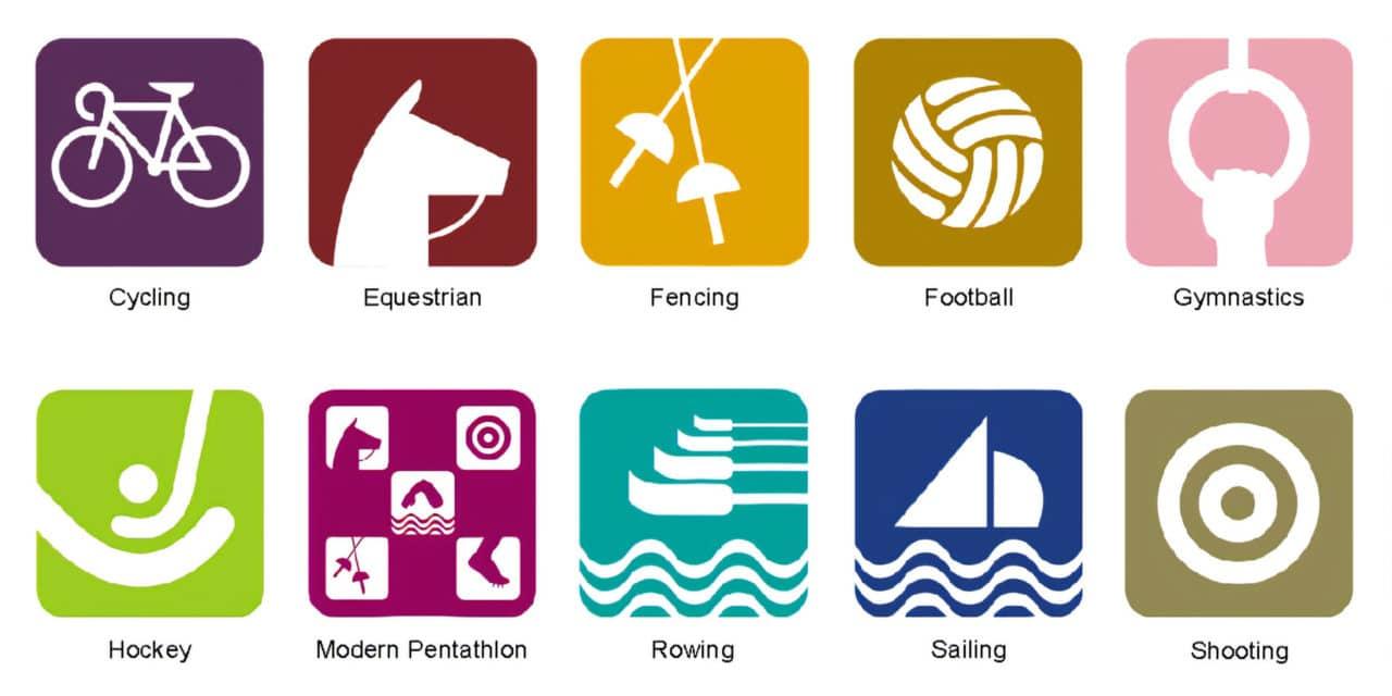 Pictogrammes des Jeux Olympiques d'été