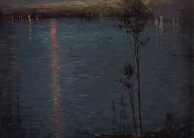 Moon on the lake - Leon Dabo (1907)