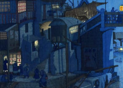 Moonlight at Soochow - Elizabeth Keith (1924)