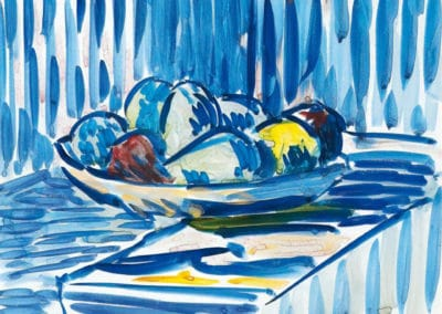 Nature morte avec fruits - Cuno Amiet (1917)