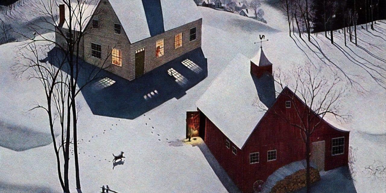 Chanson pour les enfants l'hiver – Jacques Prévert