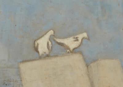 Paris pigeons - Milton Avery (1955)