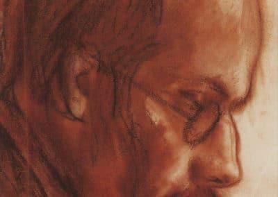 Portrait d'Alexander Benois - Zinaida Serebriakova (1924)