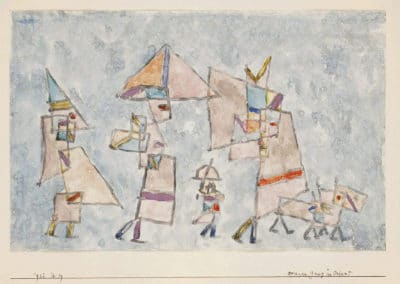 Promenade in the Orient - Paul Klee (1932)