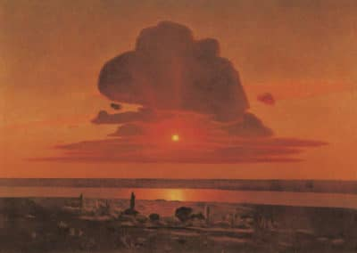 Red sunset - Arkhip Kuindzhi (1908)