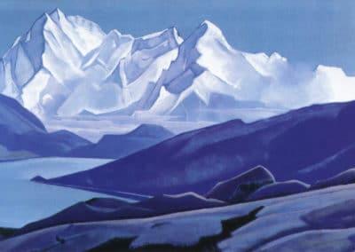 Sacred Himalayas - Nicholas Roerich (1934)