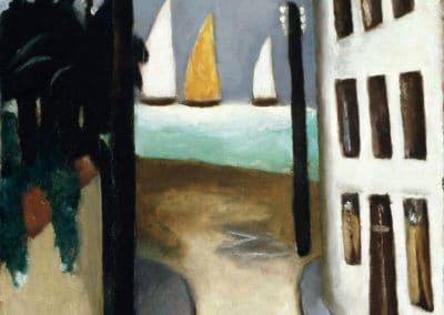 Small rural, Viareggio - Max Beckmann (1921)