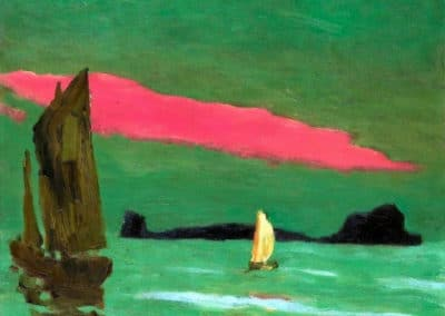 South sea island - Emil Nolde (1915)