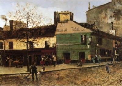 Street scene in Paris - Frank Myers Boggs (1878)