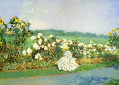 Summertime - Childe Hassam (1891)