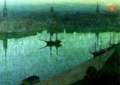 Sunrise - Eugene Jansson (1890)
