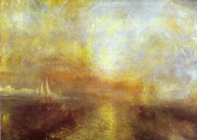 Yacht approaching the coast - William Turner (1835)