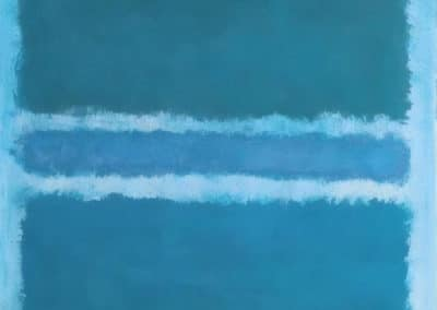 Blue divided by blue - Mark Rothko (1966)
