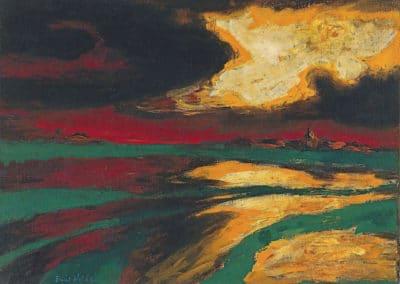 Herbstabend - Emil Nolde (1924)