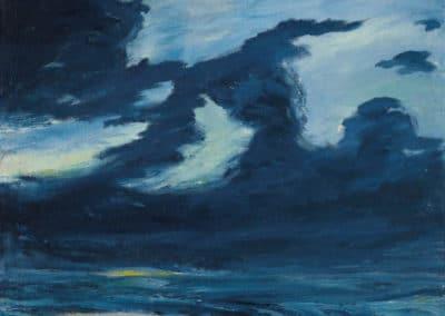 Herbstmeer XVII, 1911 - Emil Nolde (1911)