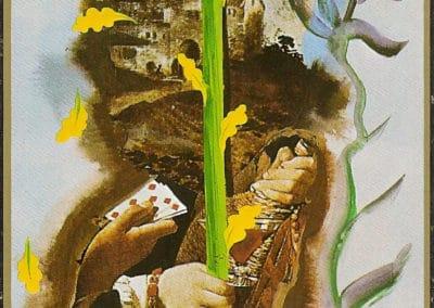 Jeu de tarot - Salvador Dali 1984 (13)