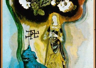 Jeu de tarot - Salvador Dali 1984 (7)