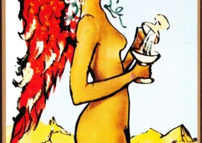 Jeu de tarot - Salvador Dali 1984 (8)