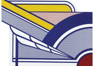Modern painting in porcelain - Roy Lichtenstein (1971)