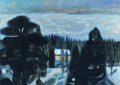 Nuit blanche - Edvard Munch (1901)