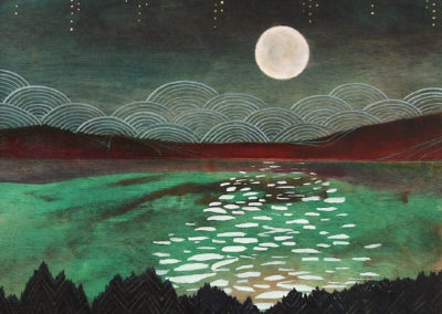 Pink moon - Cathy McMurray (1991)