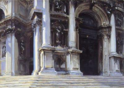 Santa Maria della Salute - John Singer Sargent (1895)