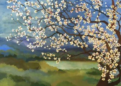 Almond blossom - Melissa Launay (2016)