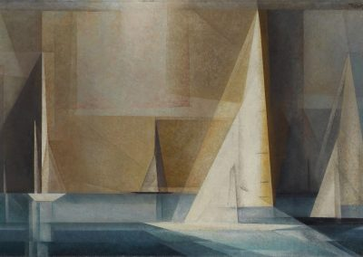 Boating - Lyonel Feininger (1929)